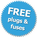 PAT Testing Free plugs and fuses